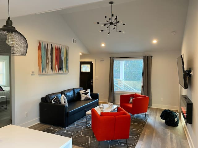 Modern Chic Home Minutes from Downtown and Airport