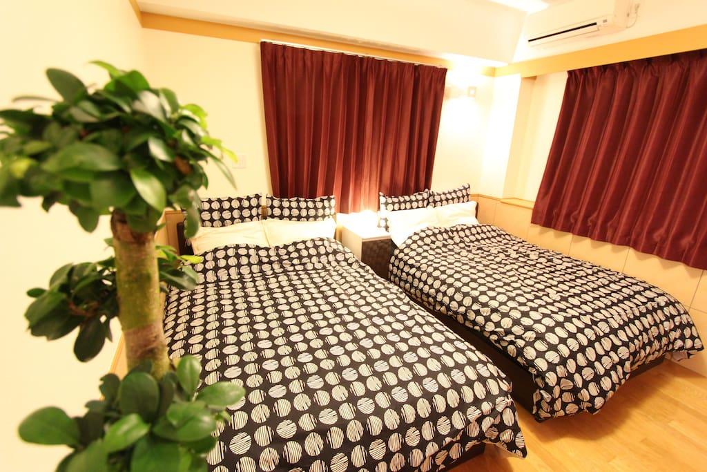 ベッドルーム  bed room