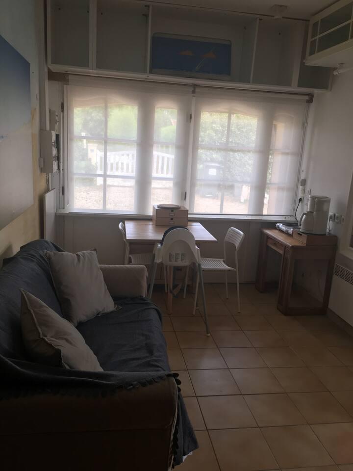 Studio attenant à la maison Vendays Montalivet