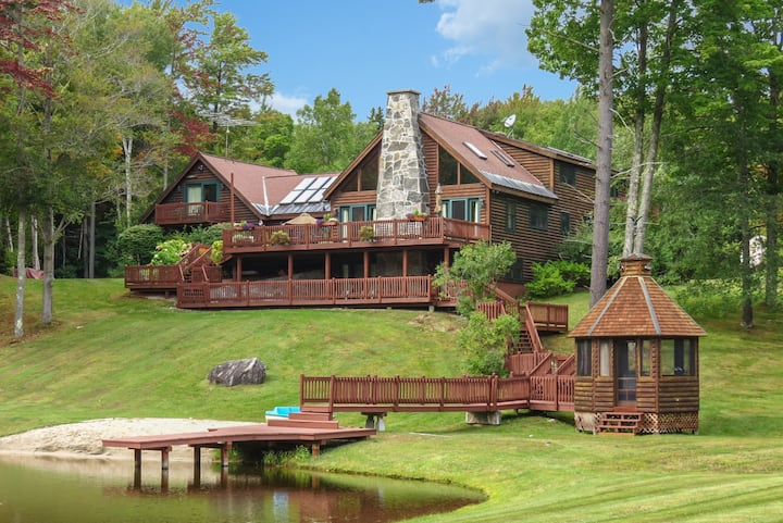 Retreat at your own private estate in rural VT!