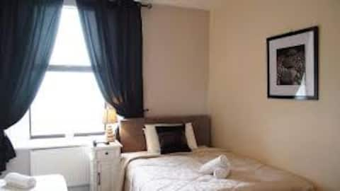 Well furnished 1Bedroom flat, 24/7 security, light
