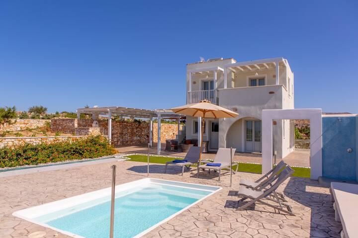 Three Bedroom Villa Private Pool & SV (Yellow)