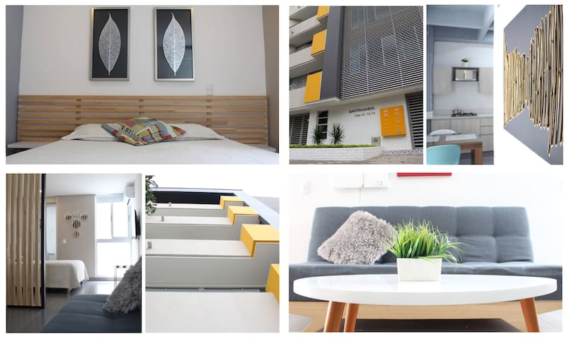 4A Modern Spacious & Clean Apt, Laureles/Medellin