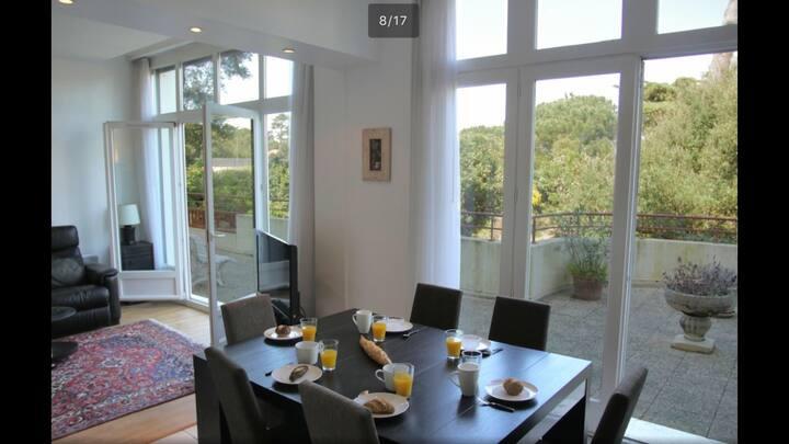Magnifique appartement, accès direct lac et centre