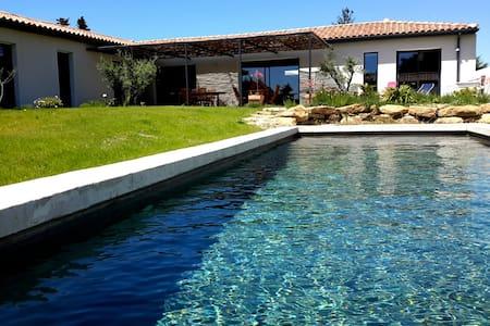 Chambre privée dans maison contemporaine - Sainte-Cécile-les-Vignes - Casa