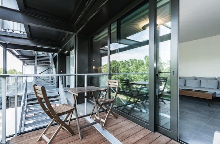Gd  F2 résidence contemporain