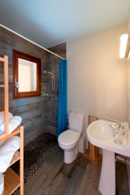 The bathroom in your apartment