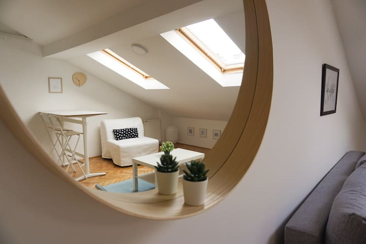 Cozy Attic Loft in City Centre