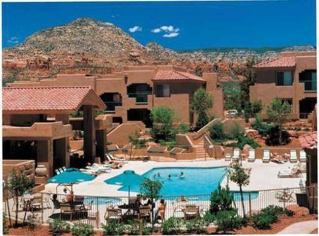 Christmas in Sedona, AZ, 2 bedroom villa, 5*resort