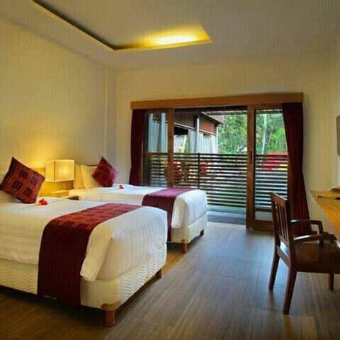 Cheap deluxe room with jungle view - อูบุด - ที่พักพร้อมอาหารเช้า