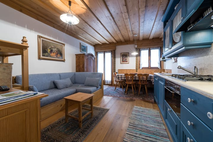 lovely 3 beds flat in town centre - Cortina d'Ampezzo - Departamento