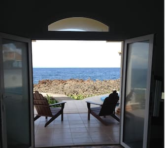Ocean Front/Pool - 1 bedroom Villa - Flowers Bay
