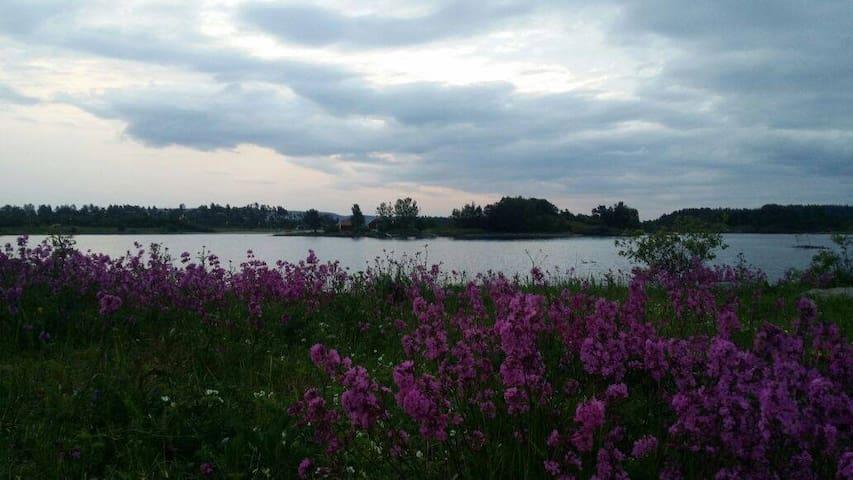 Beachside and rural in Oslo. - Lysaker - Apartament