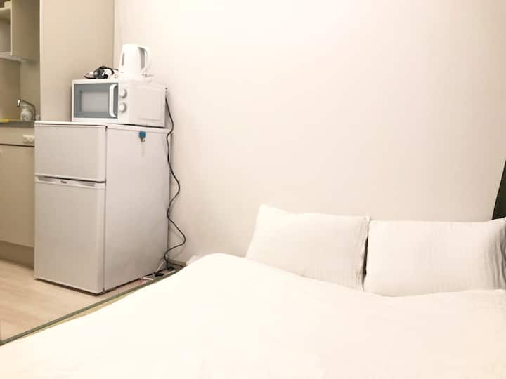 Uhome Kanda Hotel, one stop to Tokyo sta. KD502