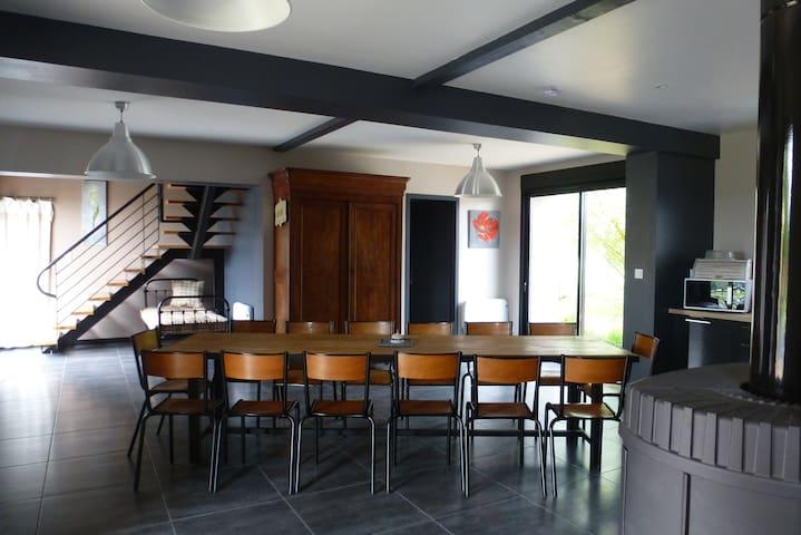 Gîte de Montassin - La Motte-Saint-Jean - Hus