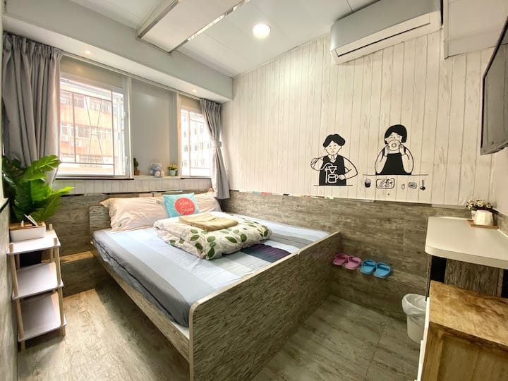 <Monthly$6200!> Twin/Double Room in Tsim Sha Tsui