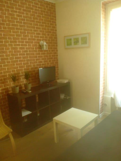 Living room : TV+ wifi