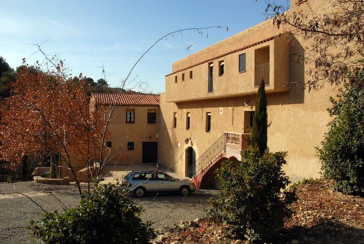 Apartamento campestre de 6 personas - Vimbodí Poblet - Apartament