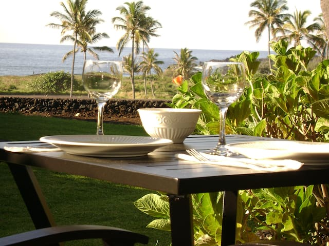 Punalu'u Beach Condo / Price includes taxes