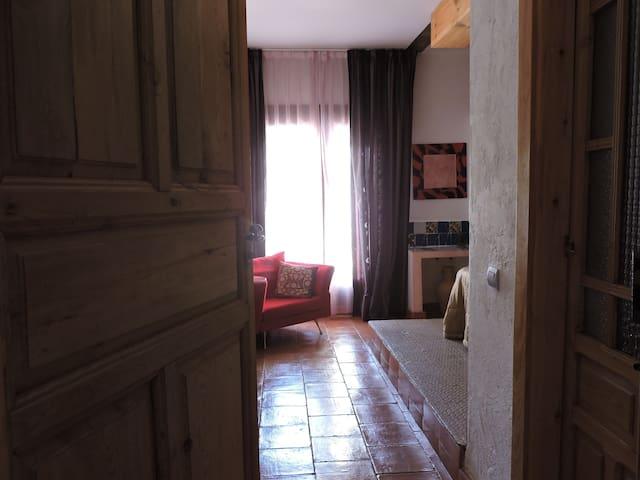 La Mancha, habitación con baño en  Toledo