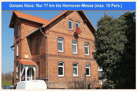 Großes Haus in Harsum (17 km zur Hannover-Messe) - House
