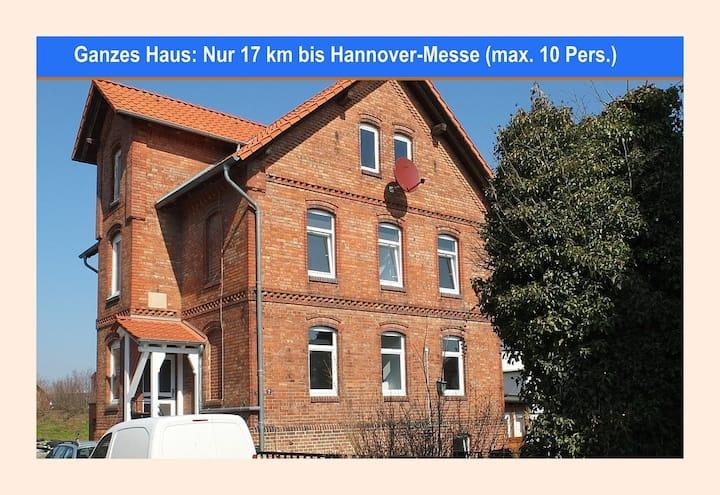 Ganzes Haus in Harsum (17 km zur Hannover-Messe)