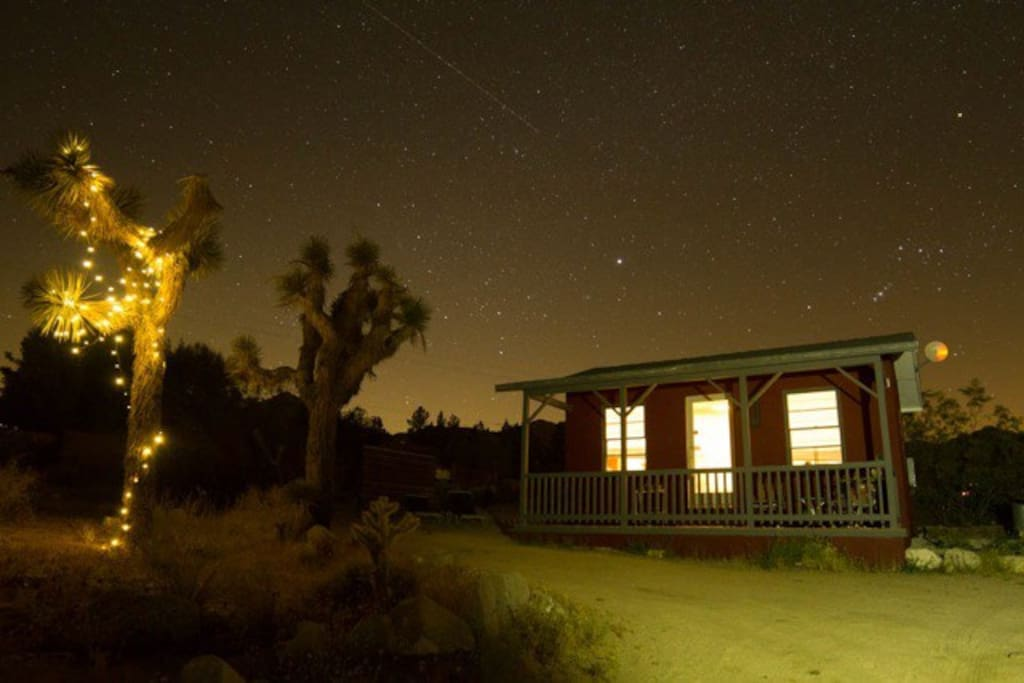 Guest photo. Dark skies in the area for star gazing every night!