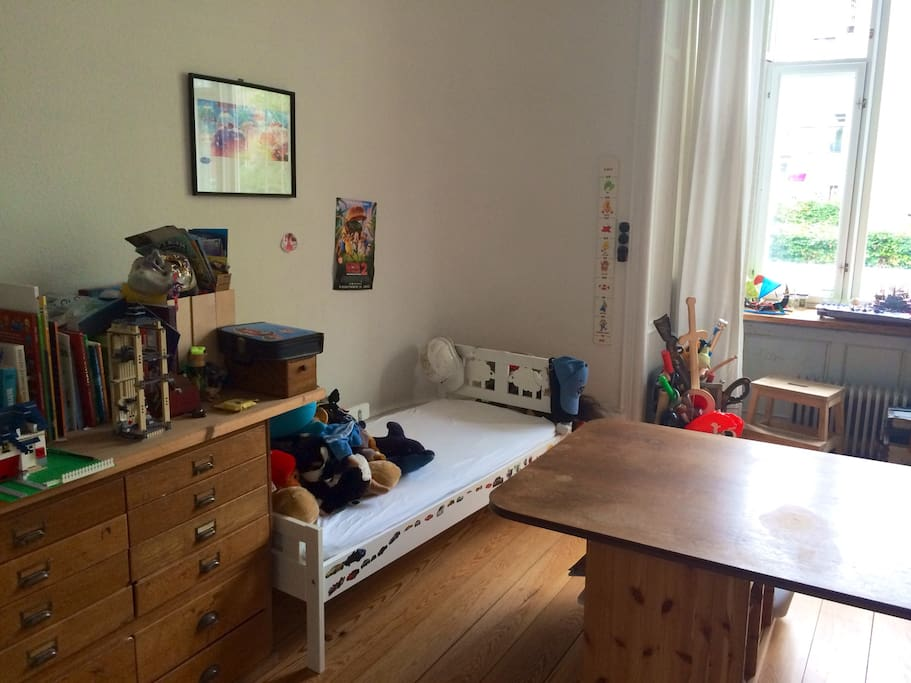 Kids room with bed
