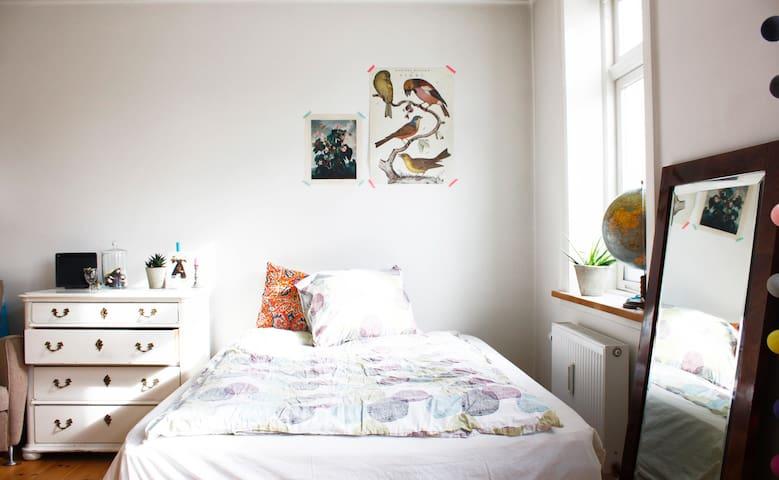 Bright & Cosy Copenhagen Room - Copenhaga - Casa