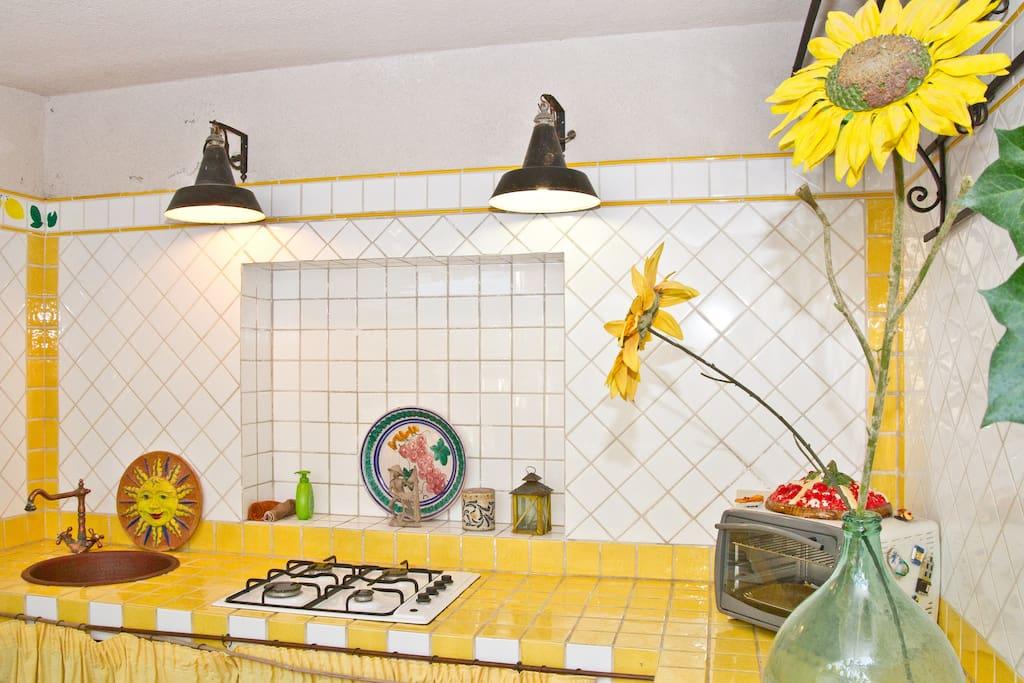 C'e' la possibilita' di utilizzare il fornetto elettrico  il frigo e'  in camera.