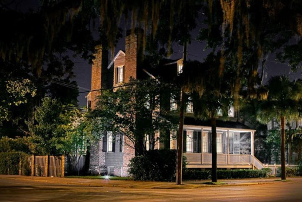 The Spanish Moss Inn was originally built on Jefferson and Hull St., and was relocated in 1968 to it's current location on Bay and Price St.; just across the street from Savannah River. Visit us and enjoy every minute spent in the heart of the historic district.