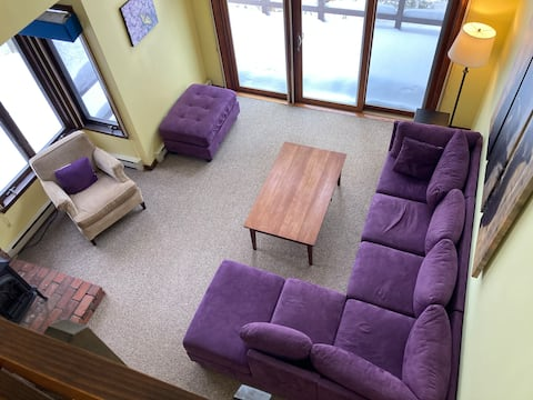 Cozy Light-filled Condo in Charming Eastman