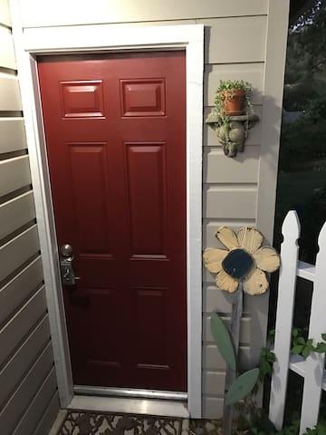 Front door to adventure...
