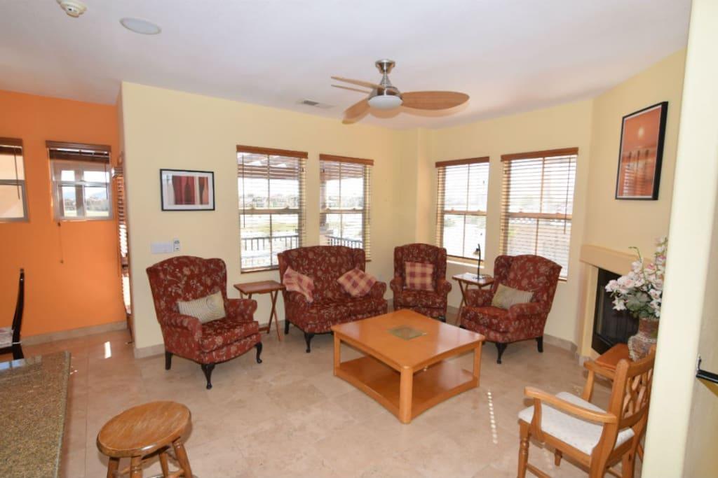 El Dorado Ranch San Felipe Holiday Rental - second floor living room