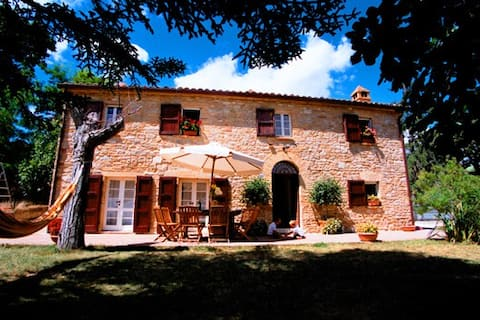 Private Hillside Villa with a View