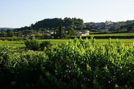 Maison en pierre, hameau de Garidel - Casa