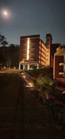 Cozy 1bhk apartment with serene view at Nagarcem