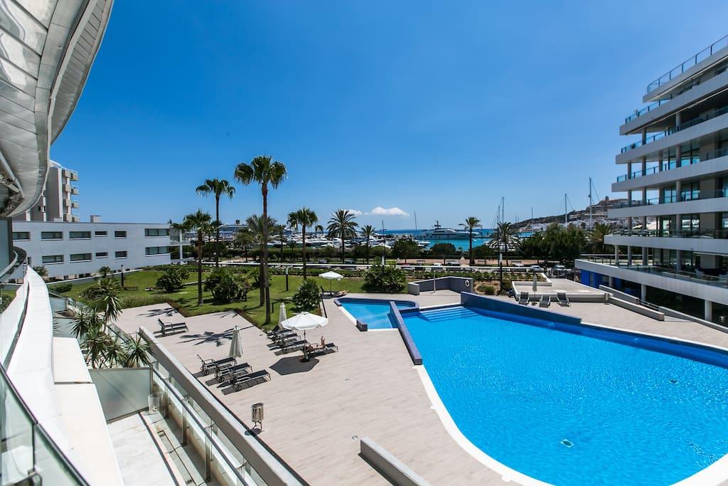 Apartamento de lujo en ibiza marina botafoc apartamentos en alquiler en ibiza illes balears - Apartamentos en ibiza ...
