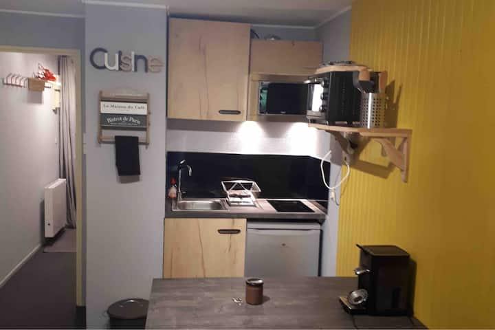 appartement le  Pleynet refait à neuf  4-6 pers