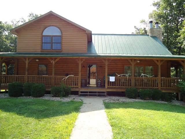 Luxury Log Home- Near French Lick - Shoals - Ev