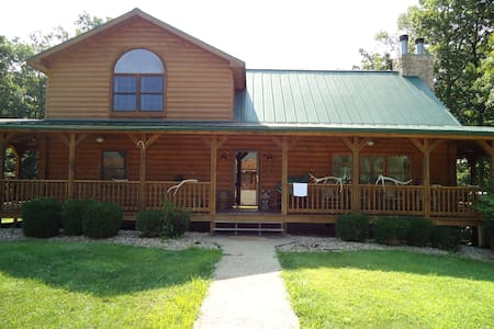 Luxury Log Home- Near French Lick - Shoals