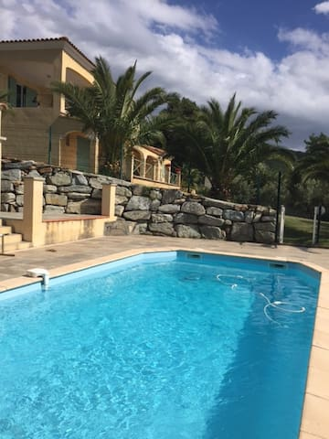 Location avec piscine en Corse - Barbaggio - Apartment