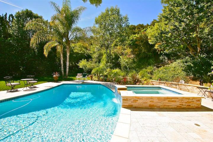 Resort style living Hollywood Hills Encino Bel Air
