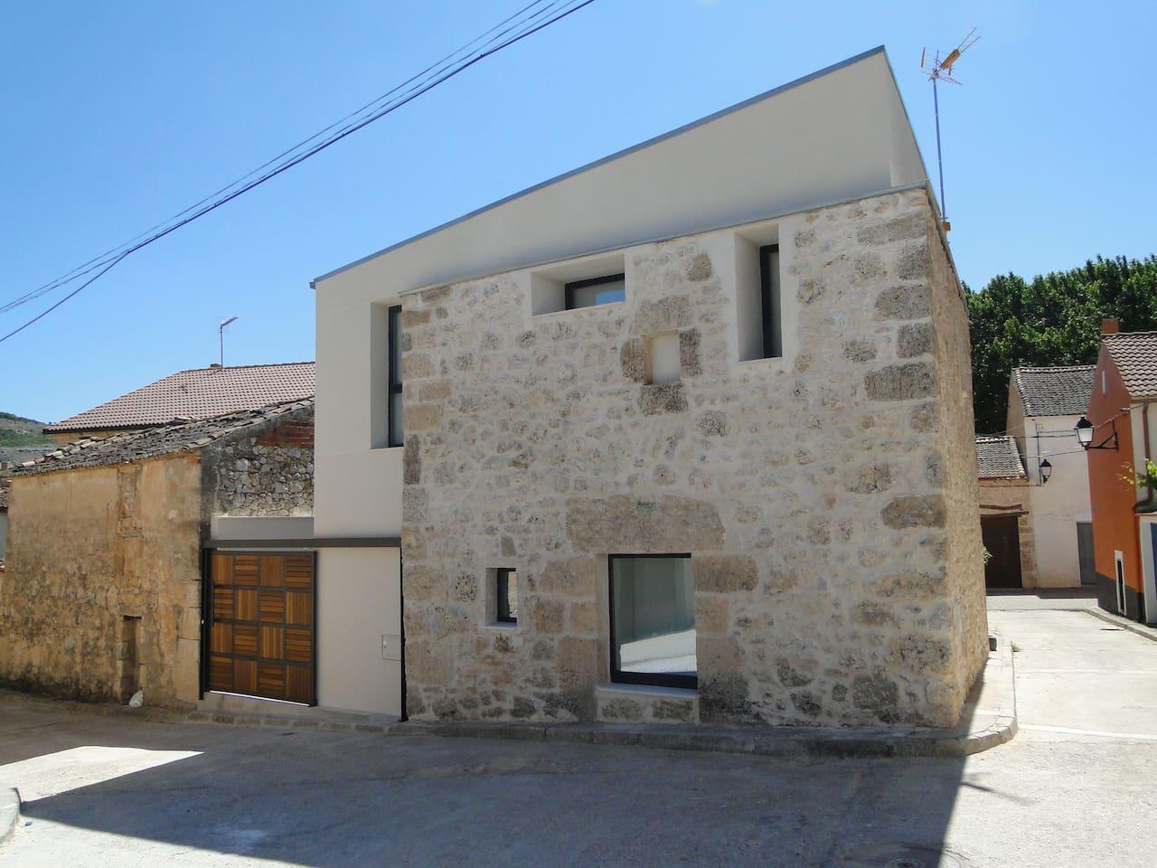 Casa con jacuzzi para dos en la Ribera del Duero