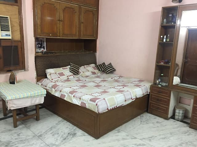 Maintained clean room, Wifi, AC, Safe for girls - New Delhi - Rumah