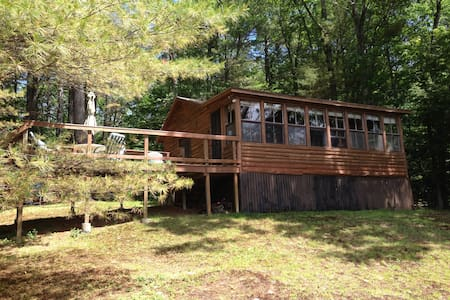 Chesham Pond - Summer Rental  - Harrisville - Blockhütte