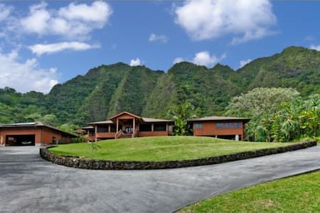 Tropical Mountain Retreat in Kaneohe - Kaneohe