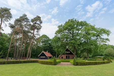 Mansion with ensuite bathrooms, 10,000m2 garden and heated terrace, Het Hulsbeek