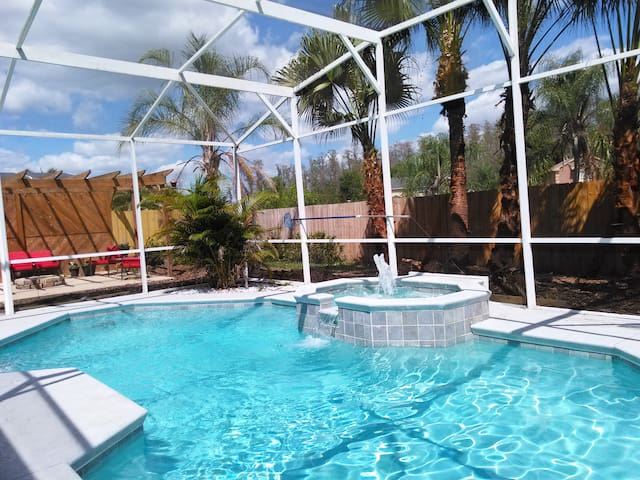 Private 2 bedroom Apartment in POOL home - Kissimmee - Appartamento