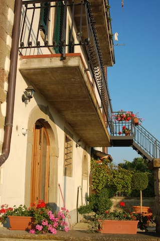 Artist Casa  in Tuscan Countryside - Arezzo - Flat